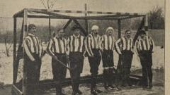 """Pohár """"SPORTU A HER"""" pro hockey na ledě (1907)"""